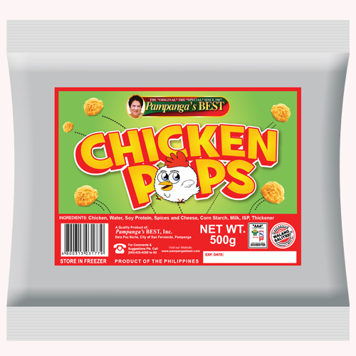 Chicken Pops 500G
