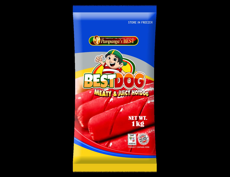 Best Dog Hotdog 1KG