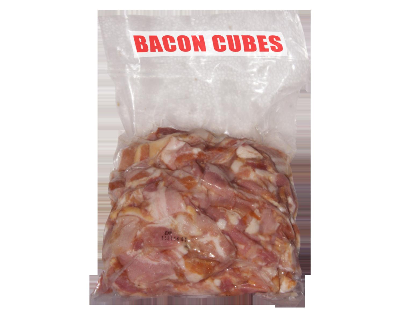 Bacon Cubes 1Kg