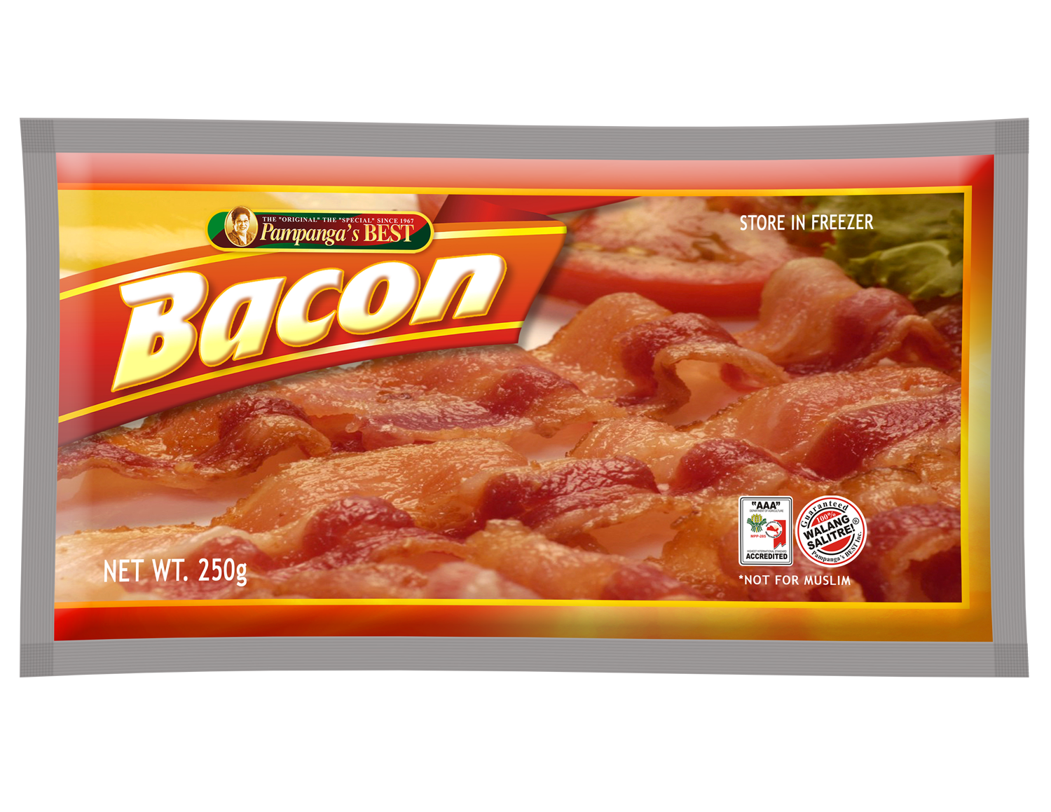 Bacon Regular 250g
