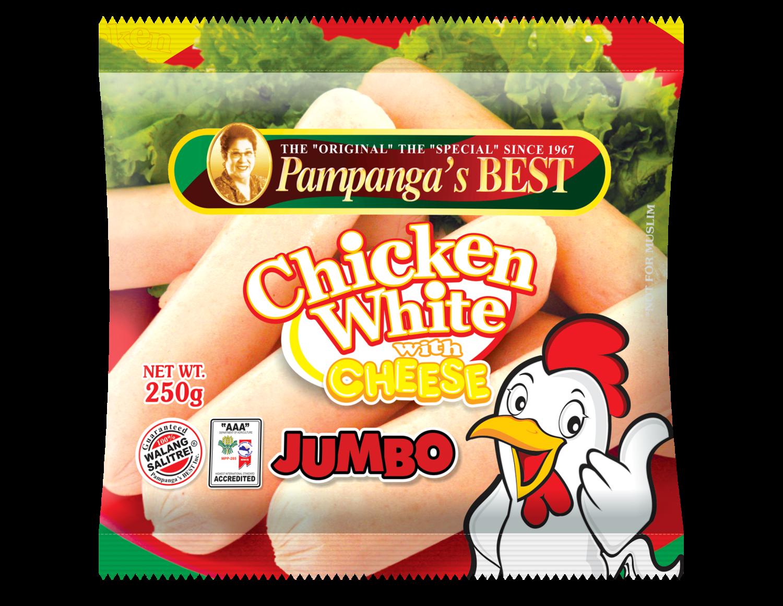 Chicken White with Cheese Jumbo 250g