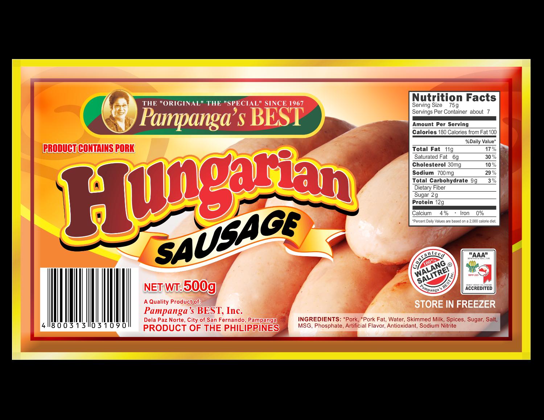 Hungarian Sausage 500G