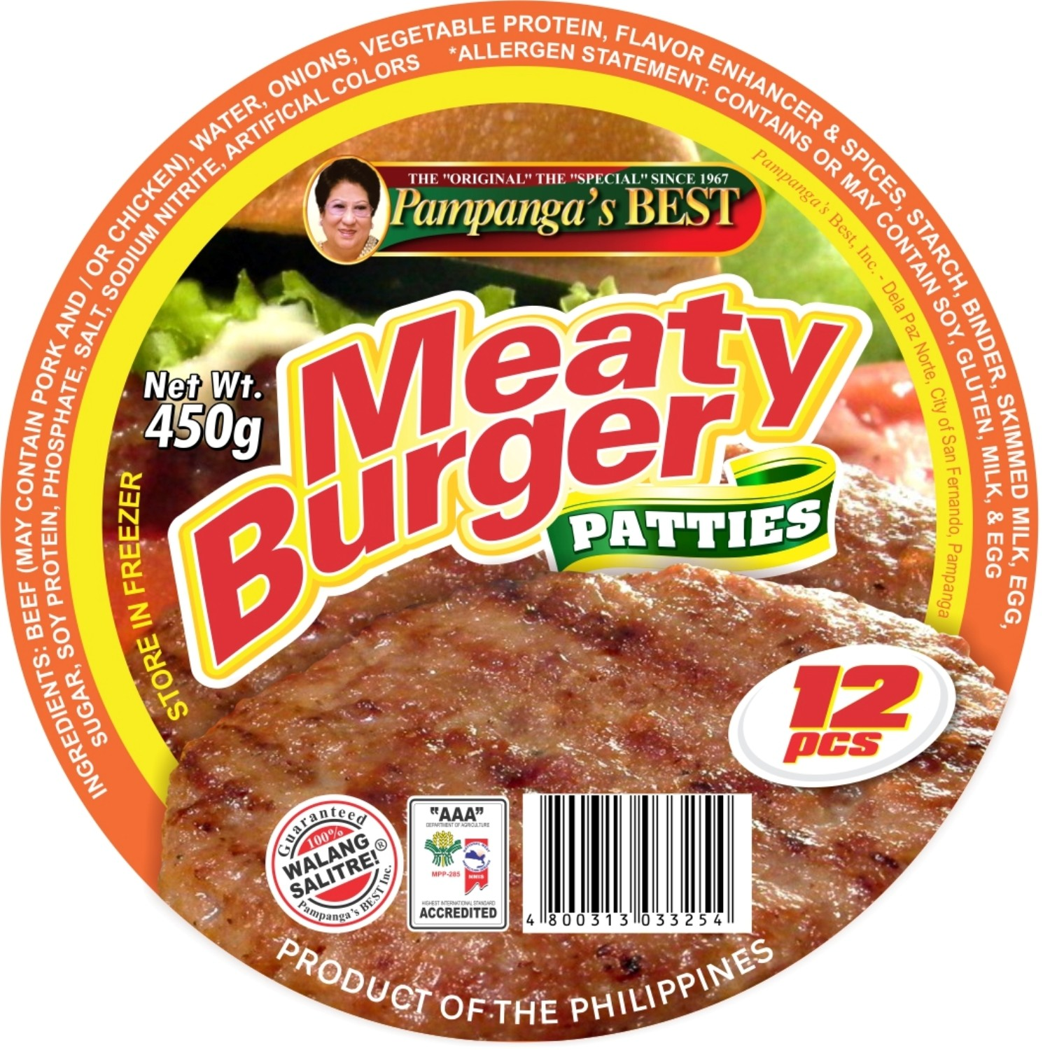 Meaty Burger - 12pcs