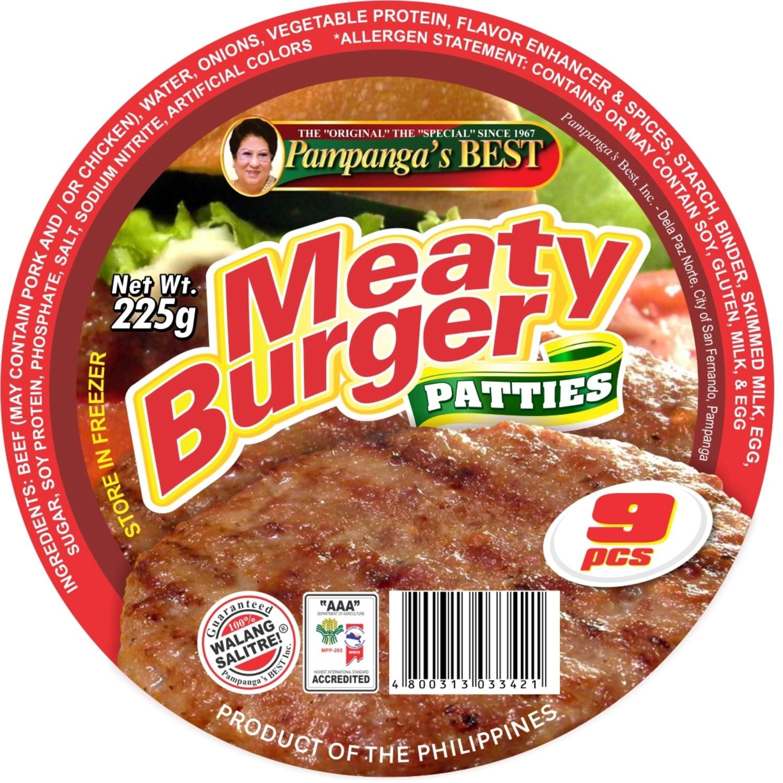 Meaty Burger - 9pcs