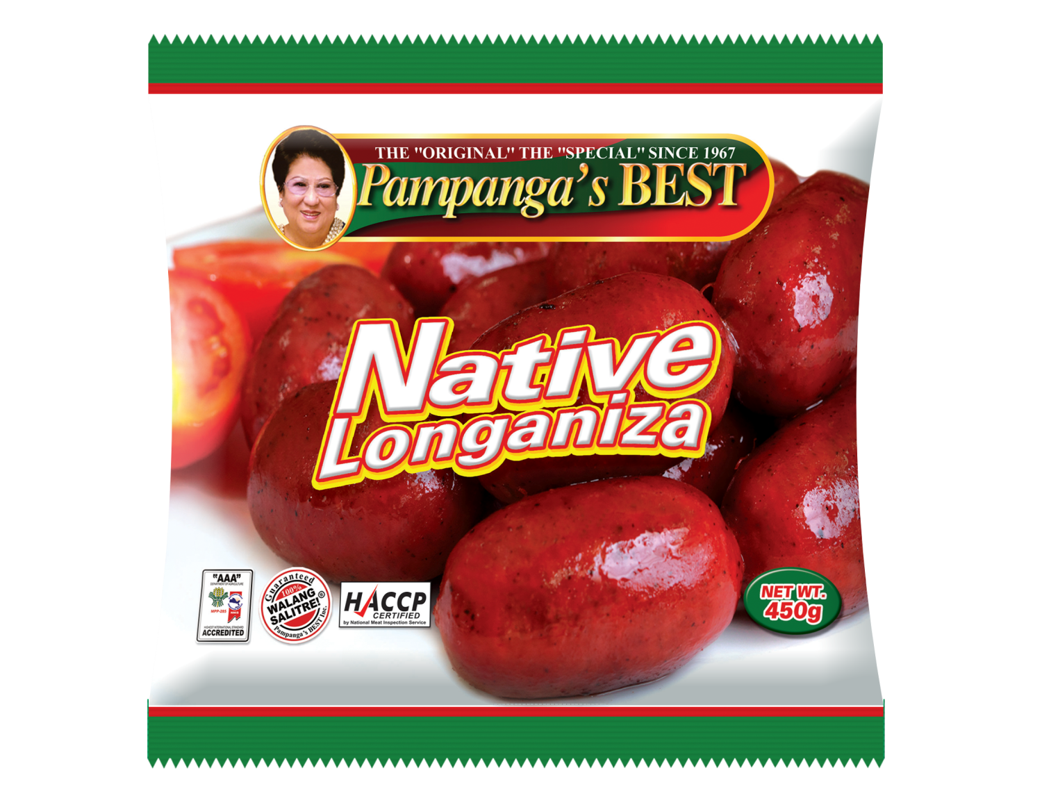 Native Longaniza 450G