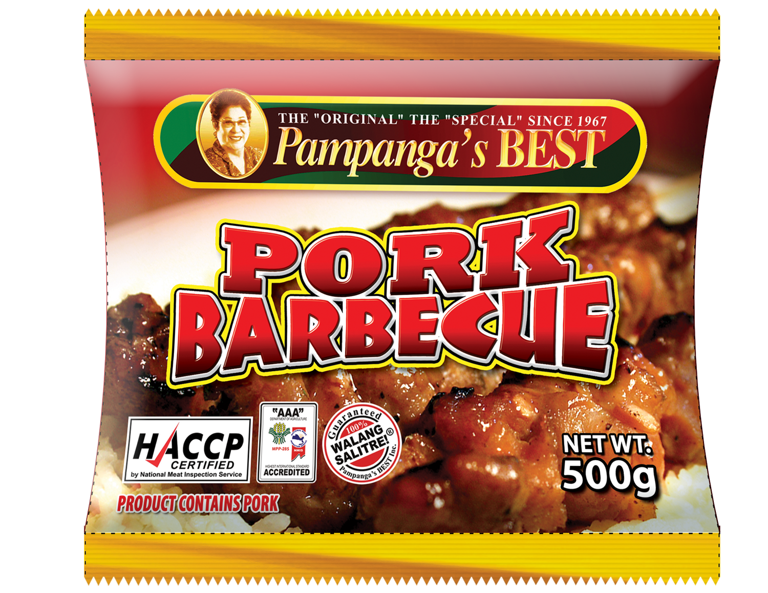 Pork Barbecue 500g