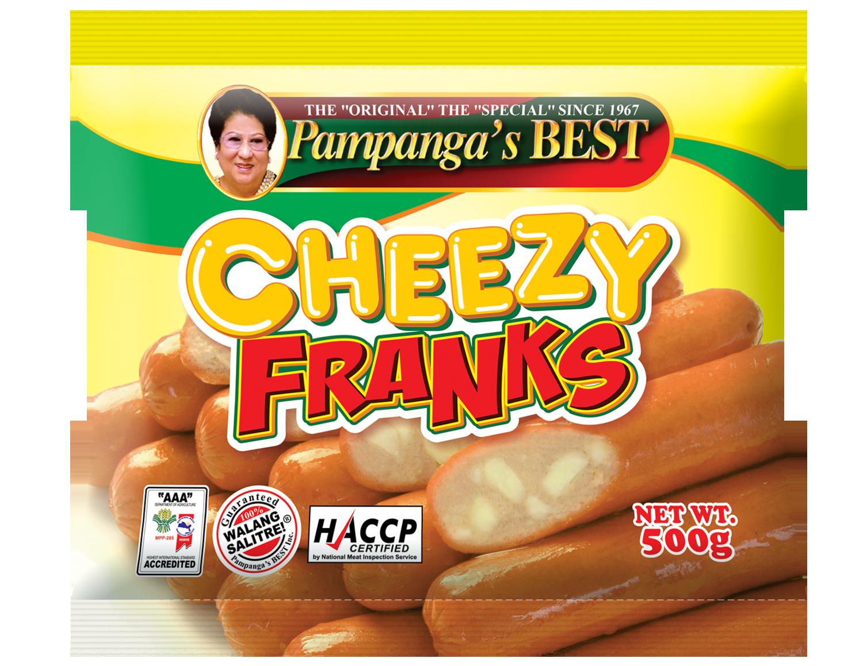 Cheezy Franks 500g