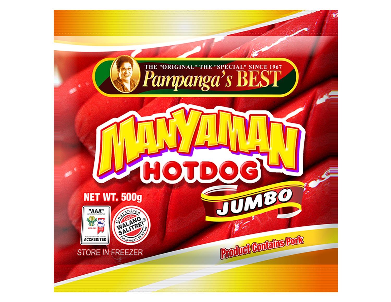Manyaman Hotdog Jumbo 500g