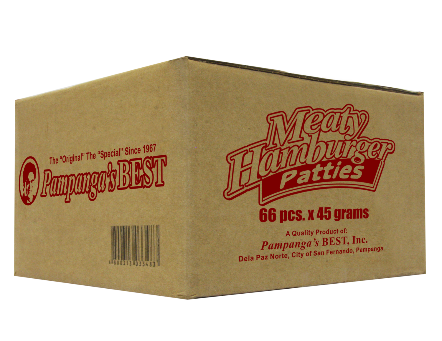 Meaty Burger 66pcs