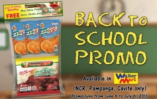 Back to School Promo