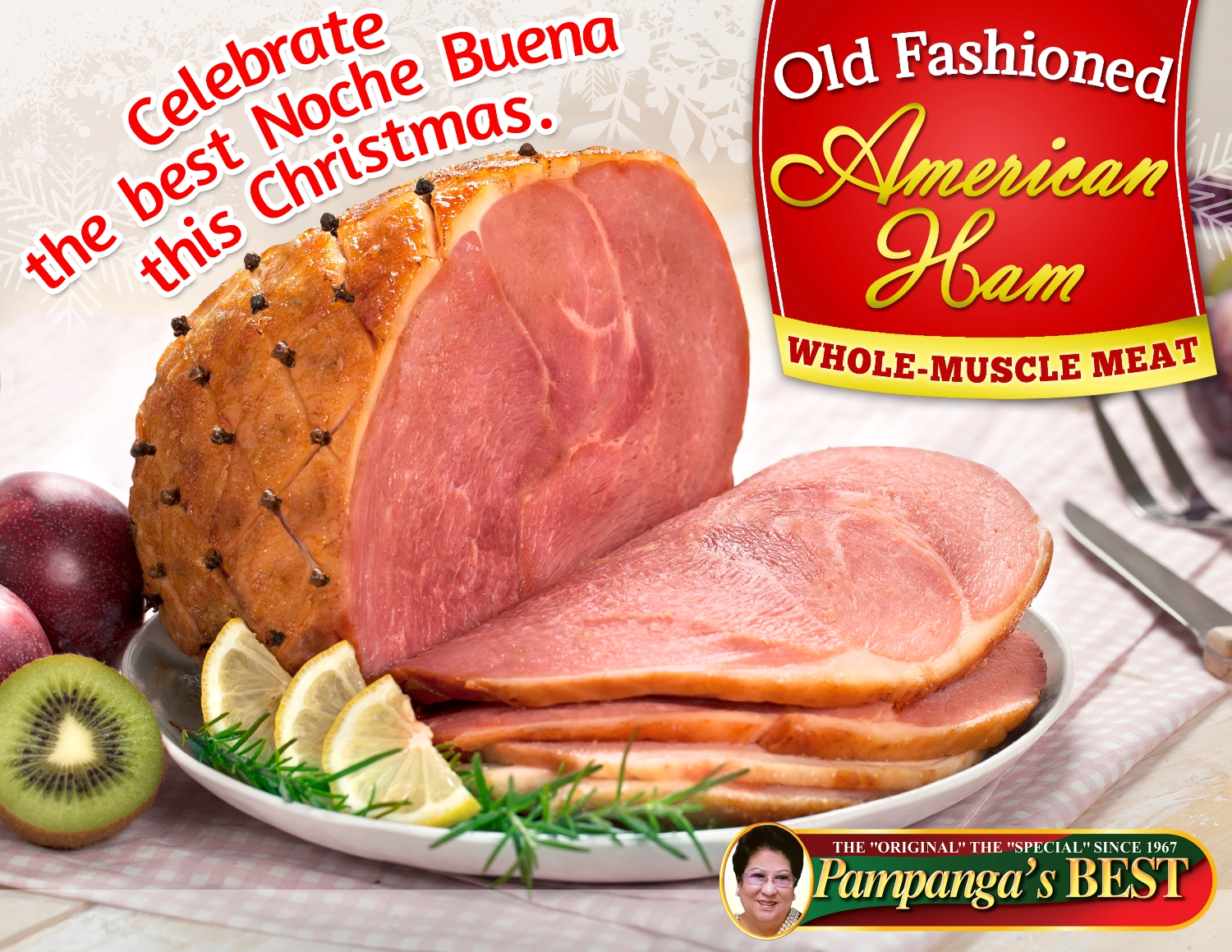 Old Fashioned American Ham